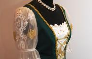 Zöld menyecske ruha