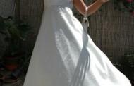 Fehér gyermek ruha esküvőhöz